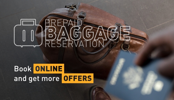 Prepaid baggage reservation